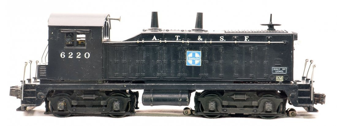 Lionel 6220 Santa Fe NW-2 Bell Ringing Switcher