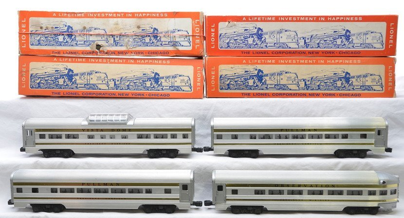 LIonel Presidential Cars 2523 2523 2522 2521 OBs