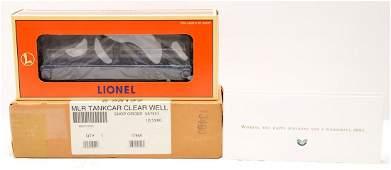 Lionel Wellspring 26127 Clear Tank wCard MIB