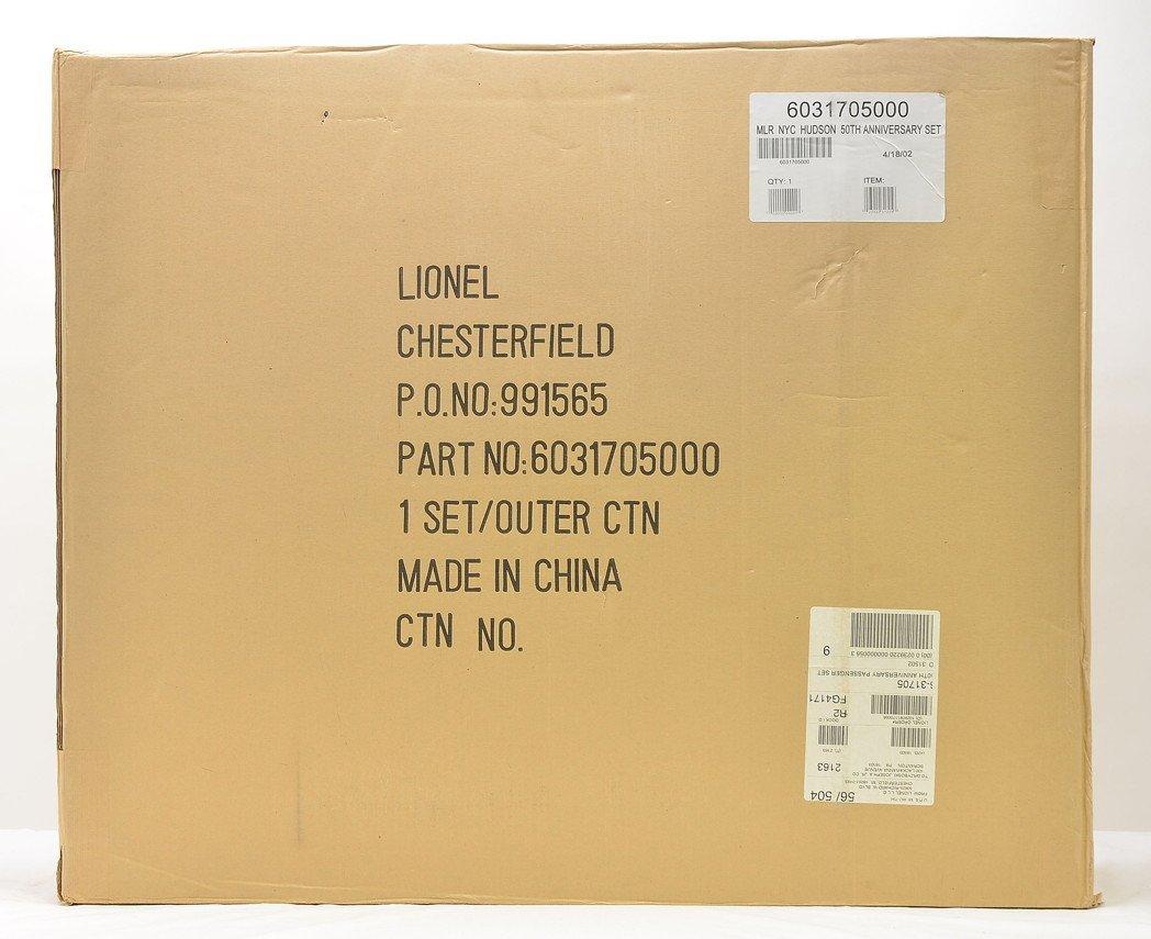 Lionel 31705 NYC Hudson 50 Anniversary Set MIB