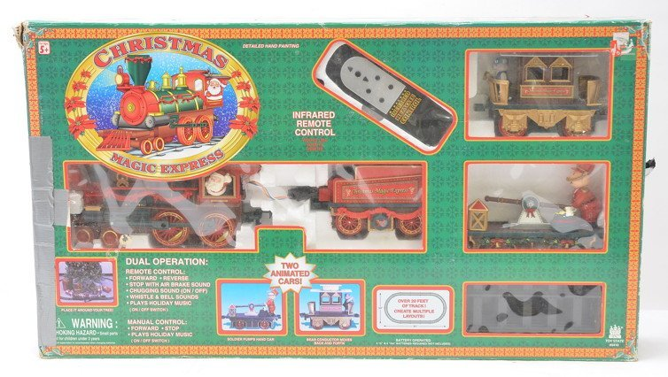 Toy State Ind. 5410 Christmas Magic Express Set