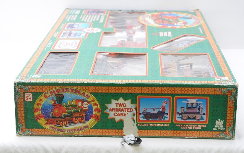 Toy State Ind. 5410 Christmas Magic Express Set - 2