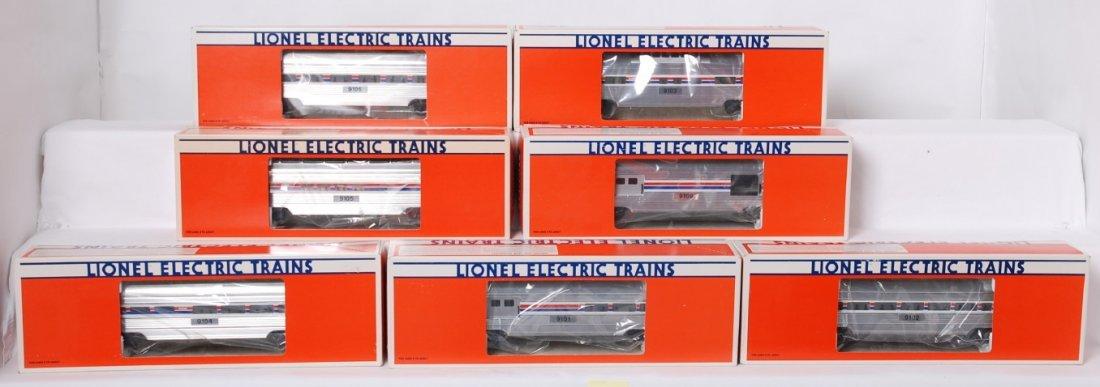 Lionel Amtrak 7 car passenger set