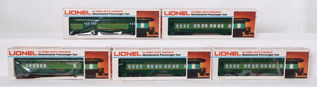 Lionel Southern Crescent passenger cars