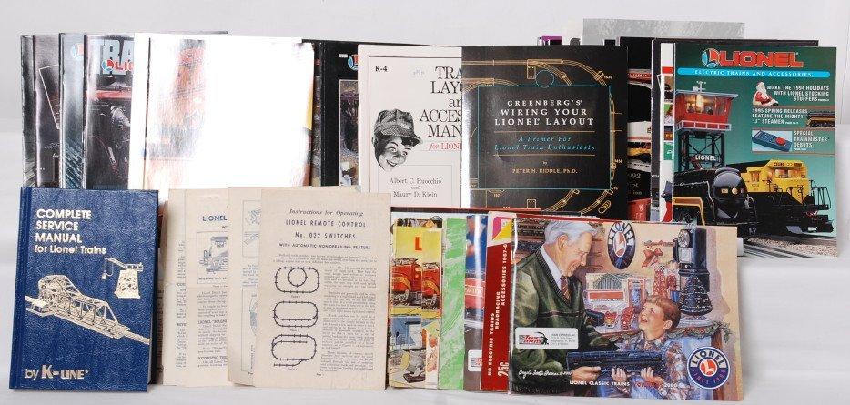 Lionel catalogs postwar, modern and Greenberg etc