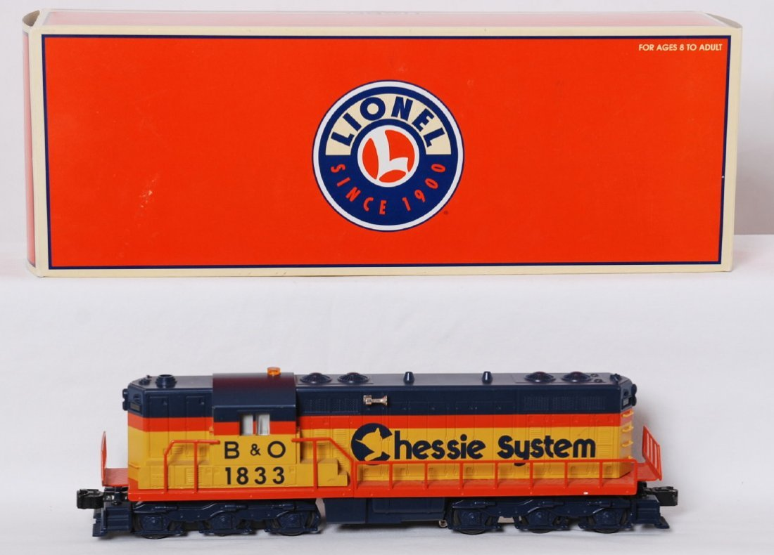Lionel Chessie SD-9 with TMCC