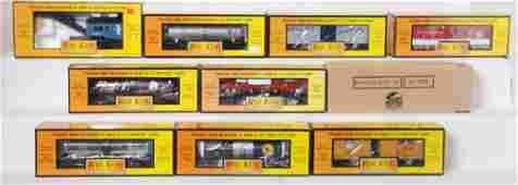 10 Railking freight cars 7384 7639 4110A 7947 etc