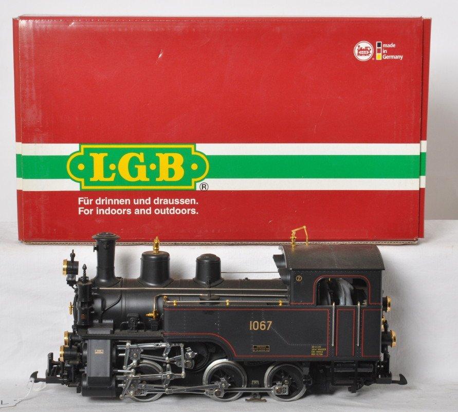LGB 20471 steam locomotive 1067 in OB