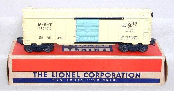 3: Lionel 6464-515 MKT Katy boxcar