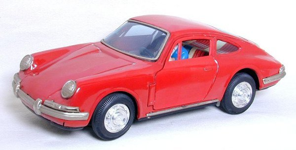 11: Japan Bandai Porsche, car is fully intact