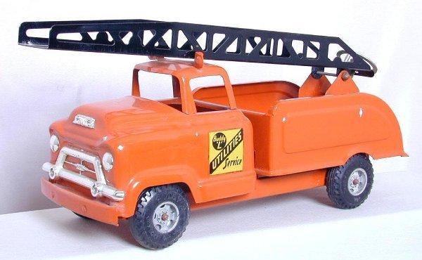 13: Buddy L Utilities Service truck, original