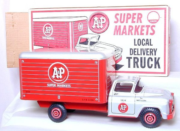16: Marx A&P Local Delivery Truck No 1022AP,
