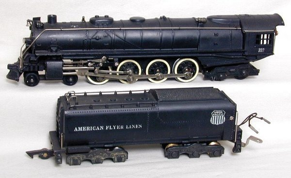 18: American Flyer 332 Union Pacific 4-8-4 an