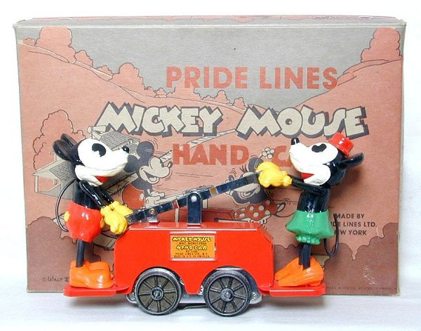 19: Pride Lines 1100 Mickey Mouse handcar, C9