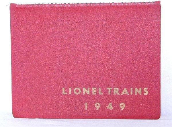 176: Tough Lionel 1949 Spiral dealer catalog