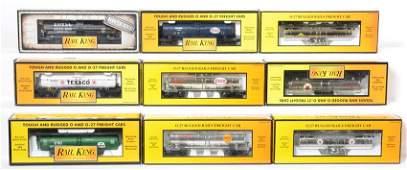 9 Railking tank cars 7311 7316 8101 etc