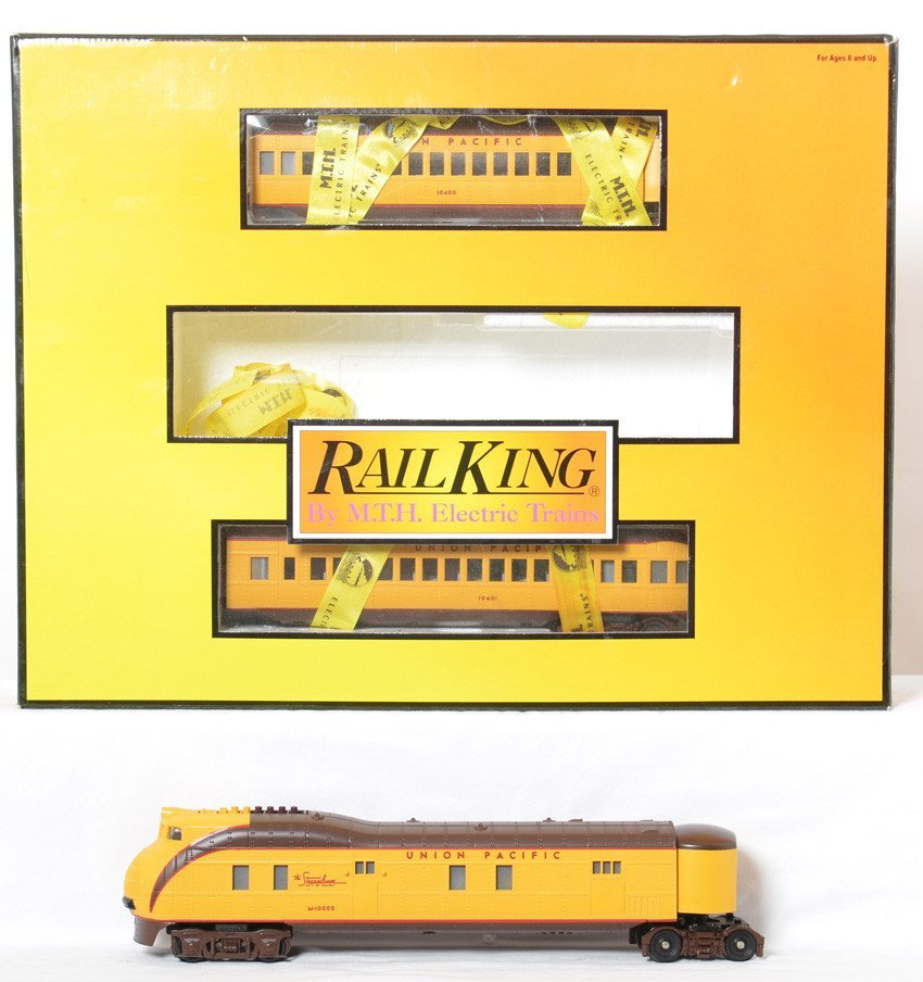 Railking Union Pacific M10000 set with Proto 2.0