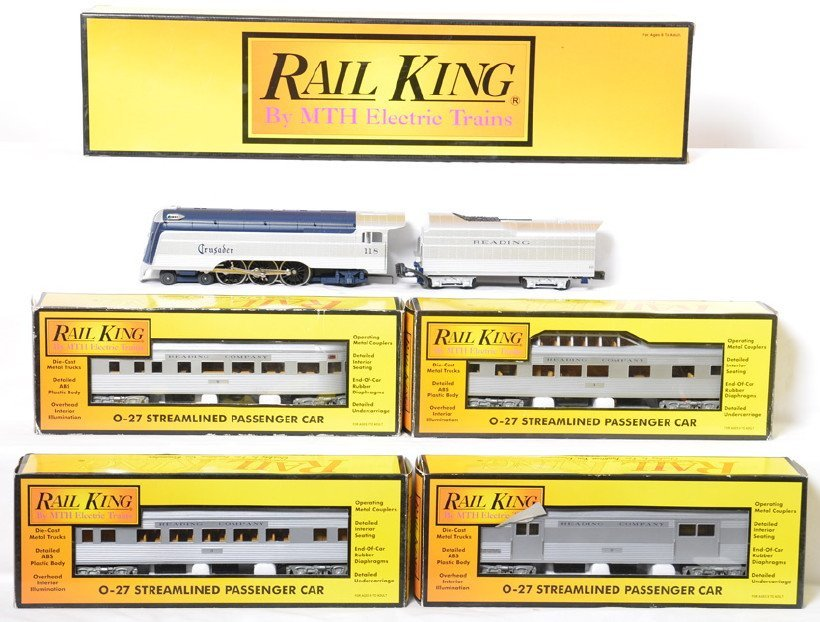 Railking Reading Crusader passenger set
