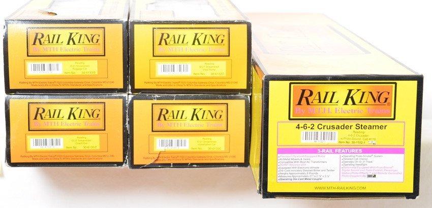 Railking Reading Crusader passenger set - 2