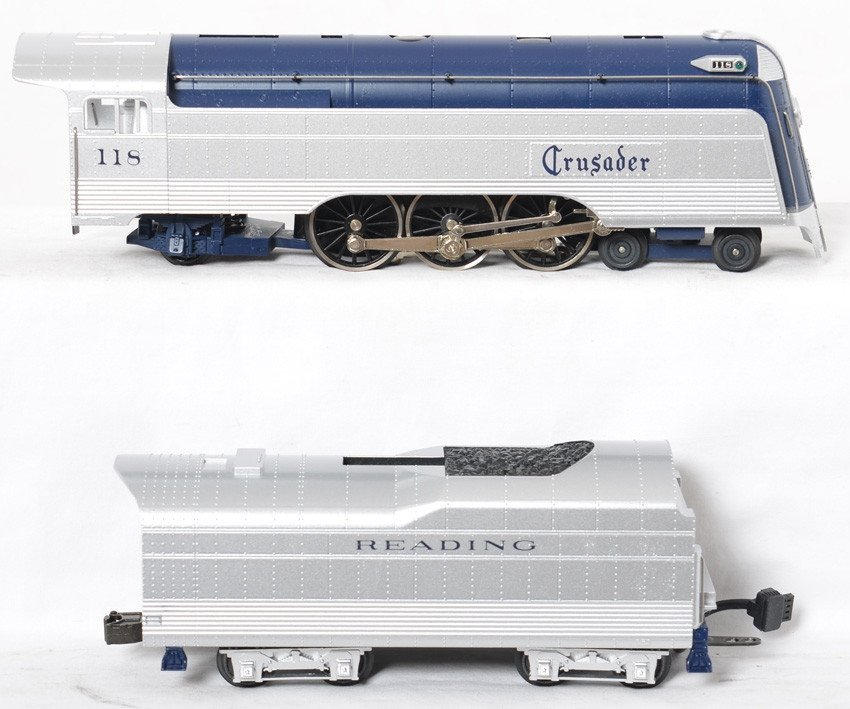 Railking Reading Crusader passenger set - 3