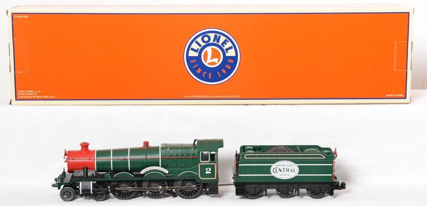 Lionel 38691 Santa Flyer steam locomotive