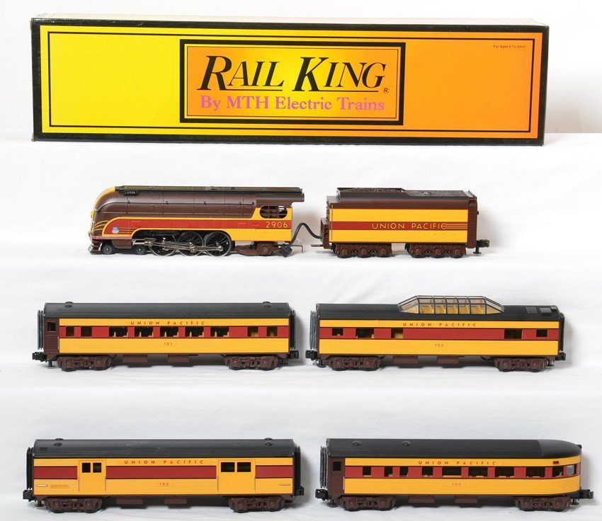 Railking Union Pacific 49er passenger set