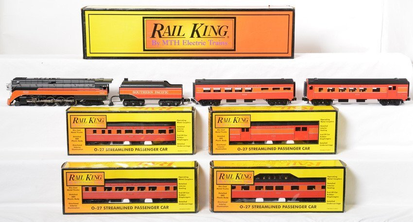 Railking Daylight GS4 loco and 6 passenger cars
