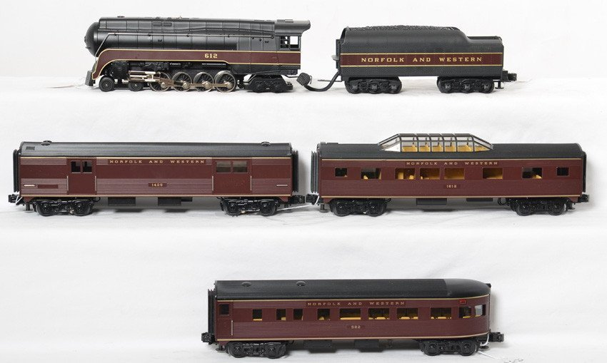 Railking Norfolk and Western J class set