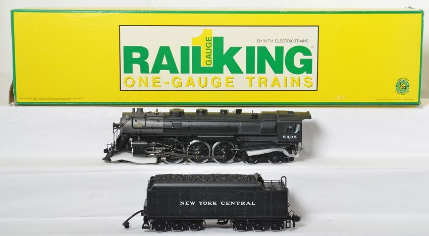 MTH G scale 70-3001-1 NYC Hudson