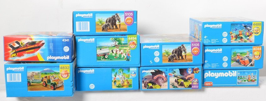 10 Playmobil kits 4044, 3257, 4854, 4488, 4802, etc - 2