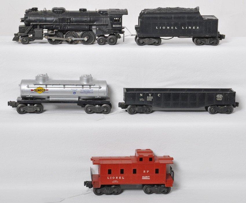 Lionel 1463W freight 2036, 6466W, 6465, 6462, 6257