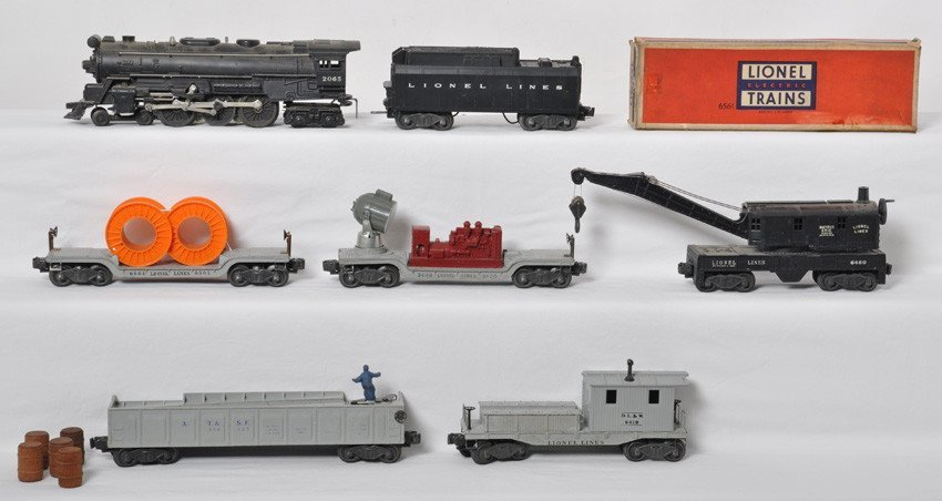 Lionel 1521WS freight set 2065, 6026W, 6419-25...