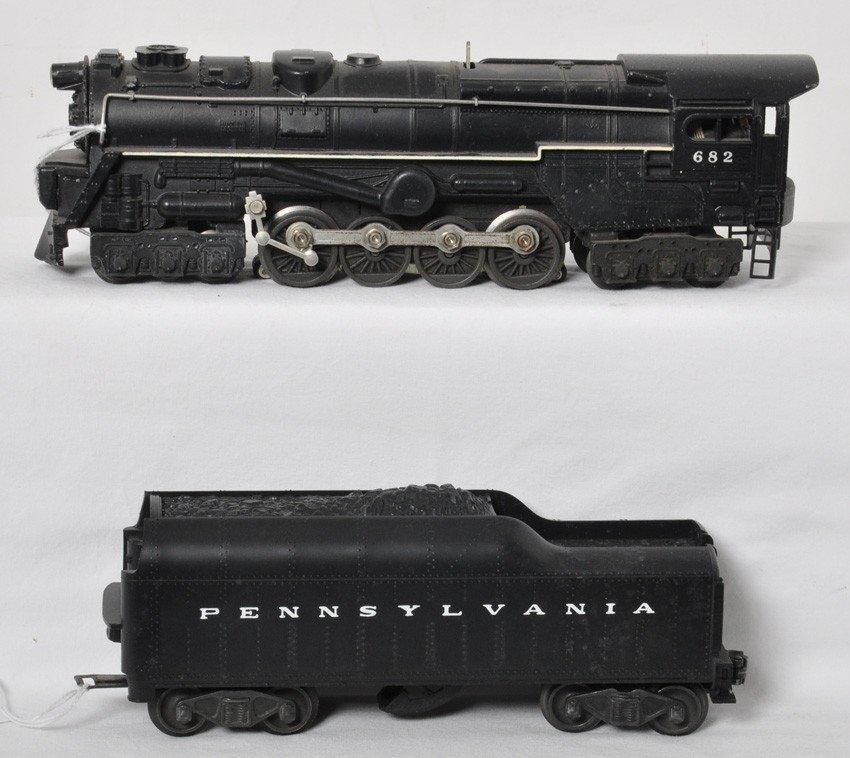 Lionel No. 682 steam turbine w/2046W Pennsylvania