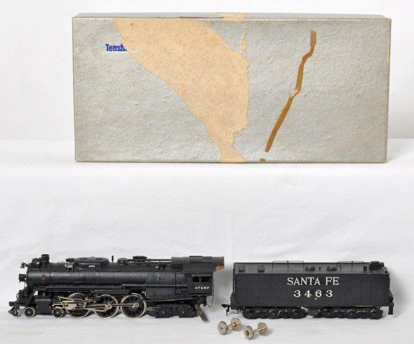 Tenshodo HO Brass Santa Fe 4-6-4 loco