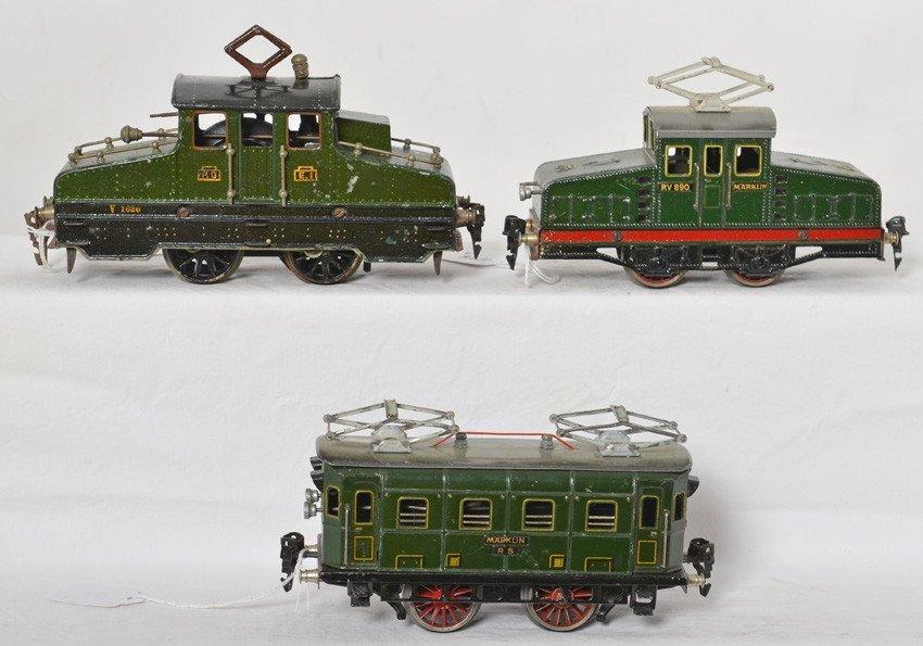 Marklin RS900, RV890, P.O E.I V1020 electric locos
