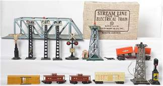 Nice sized group of Lionel Marx and American Flyer