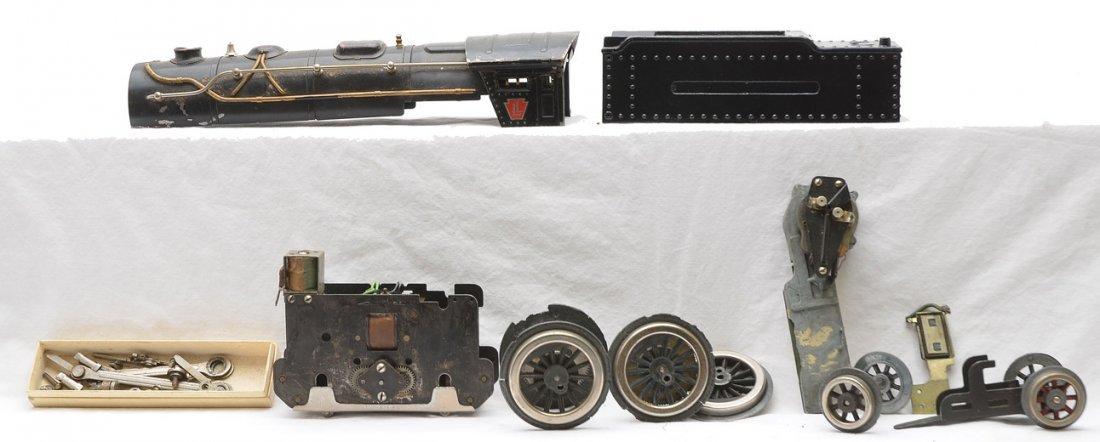 Lionel 1835E Steam Loco 1835W Die Cast Tender
