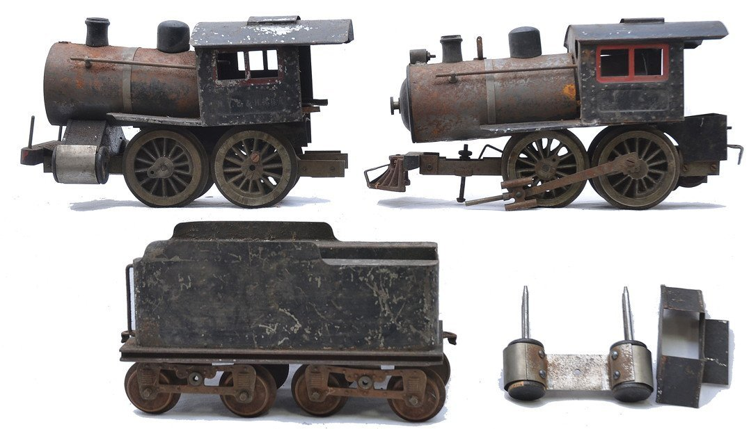 Lionel 2 No. 5 Steam Locos and an 8-Wheel Tender