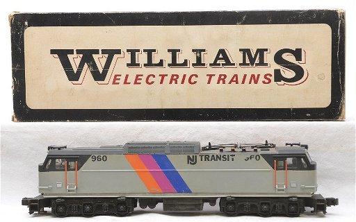 Williams NJ Transit E60 Power Electric Diesel
