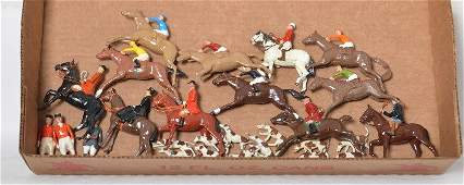 Britains steeple chase, fox hunt, Master of