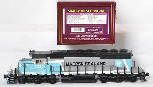 MTH Norfolk Southern / Maersk SD40 with Proto 2