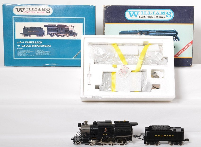 Williams Reading Camelback and PRR streamlined K-4