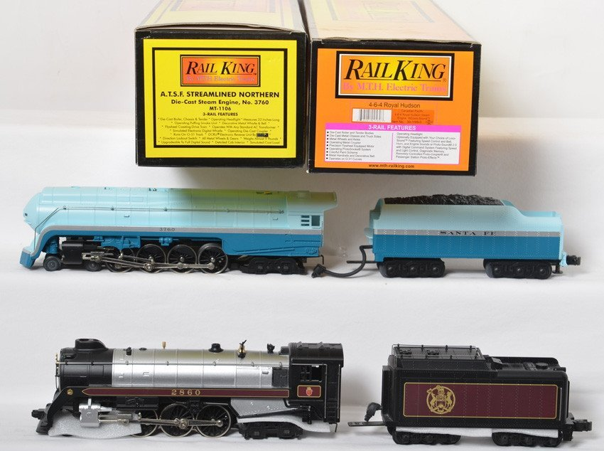 Railking SF blue J class and CP Royal Hudson