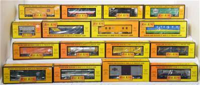 16 Railking freight cars