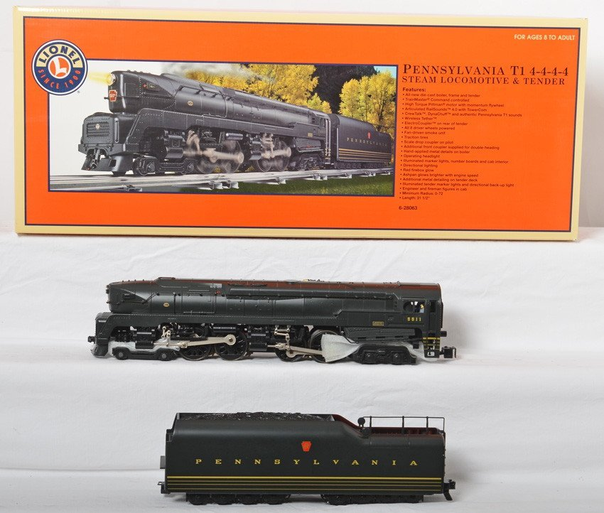 Lionel Pennsylvania T1 Duplex With TMCC
