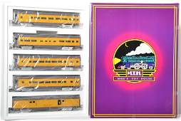 MTH Union Pacific aluminum 5 car passenger set