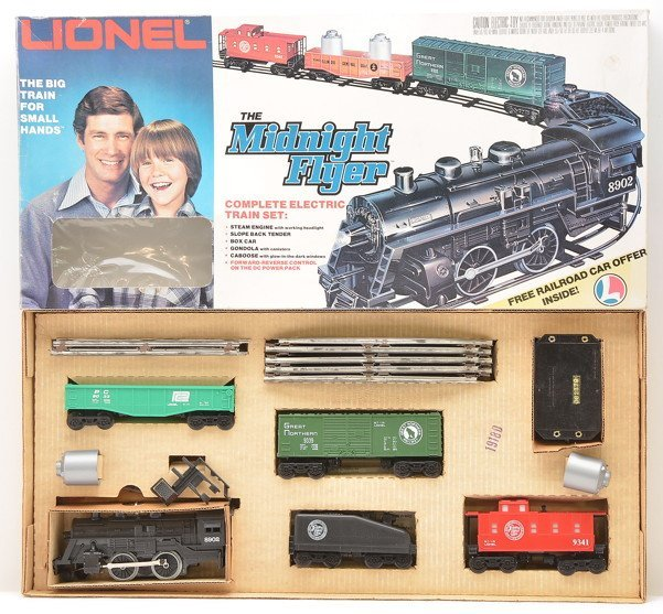 Lionel 1960 The Midnight Flyer Freight Set OB