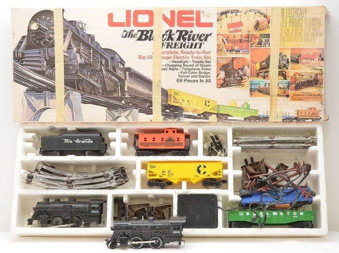 Lionel 1662 The Black River Freight Set OB
