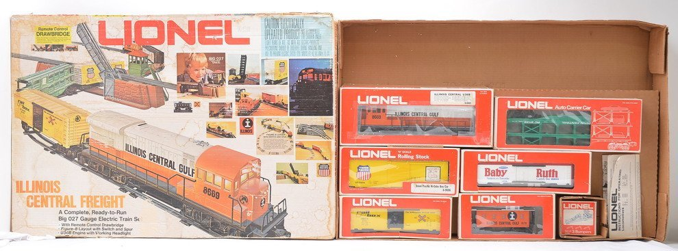 Lionel 1664 Illinois Central Freight Set OB