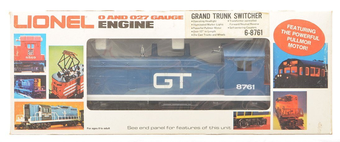 Lionel 8761 Grand Trunk NW2 Switcher LN OB